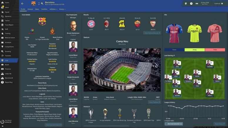 Club Page